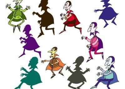 Dracula Cartoons