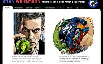 Brian Williamson Comic Artist