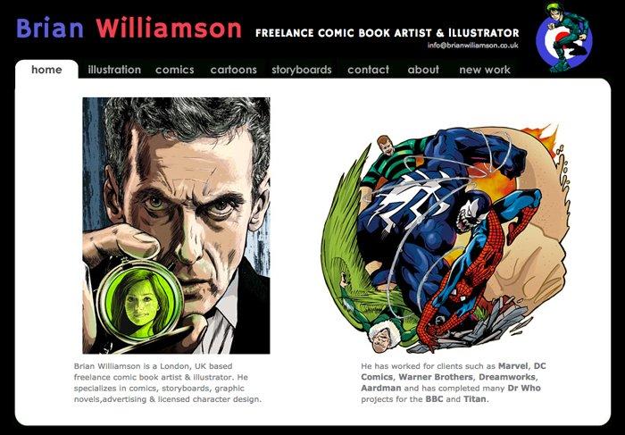 Brian Williamson Comic Artist