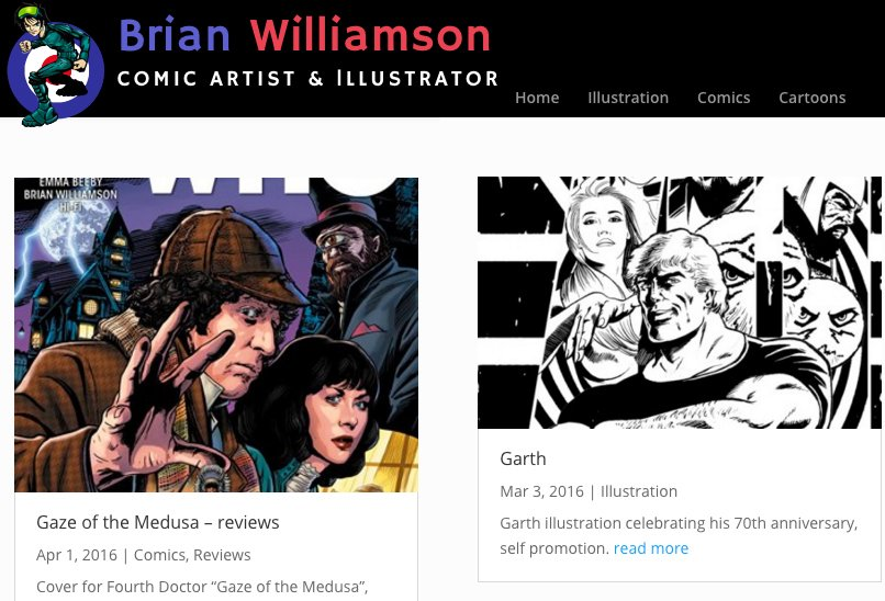 New Blog for Brian Williamson