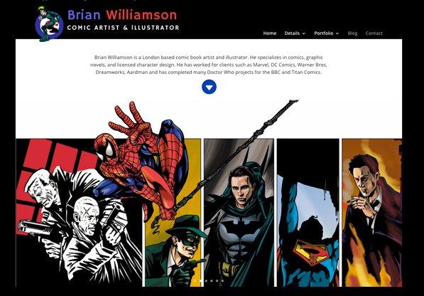 Brian Williamson – New website