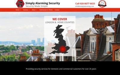 Simply Alarming Website