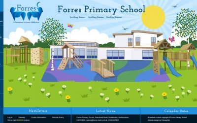 New website for Forres Primary School