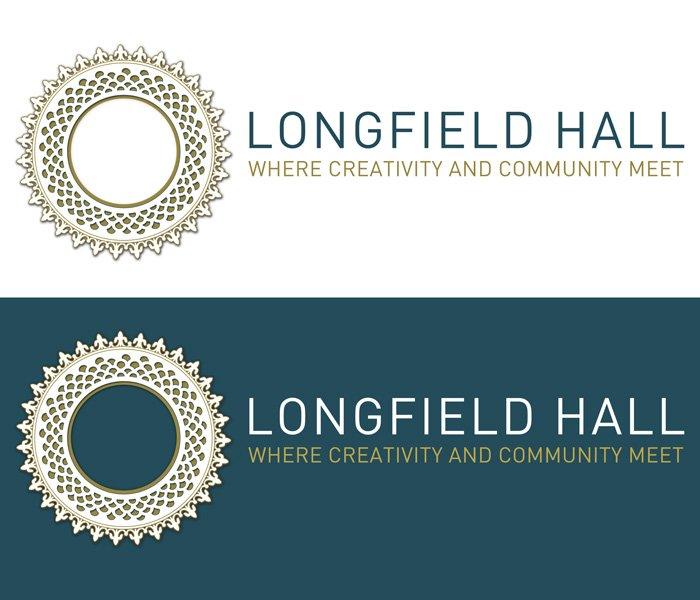 lucy maddison design logo design longfield hall