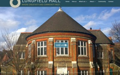 New website for Longfield Hall