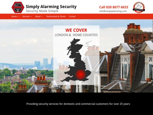 Simply Alarming Security