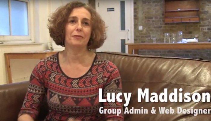 Lucy Maddison Design Streatham web designer logo design