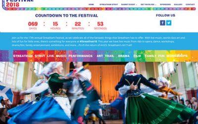 Streatham Festival website