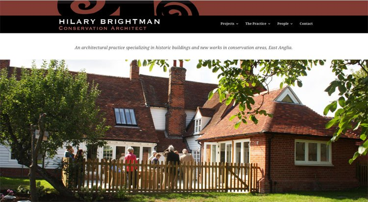 Hilary Brightman Architects Website