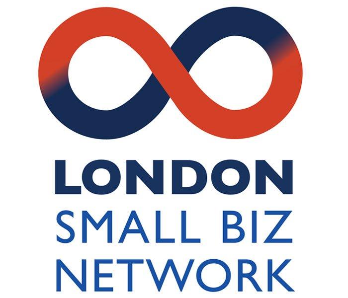 London small biz network logo Lucy Maddison Logo Design Streatham South London