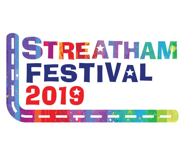 Streatham festival logo lucy maddison design