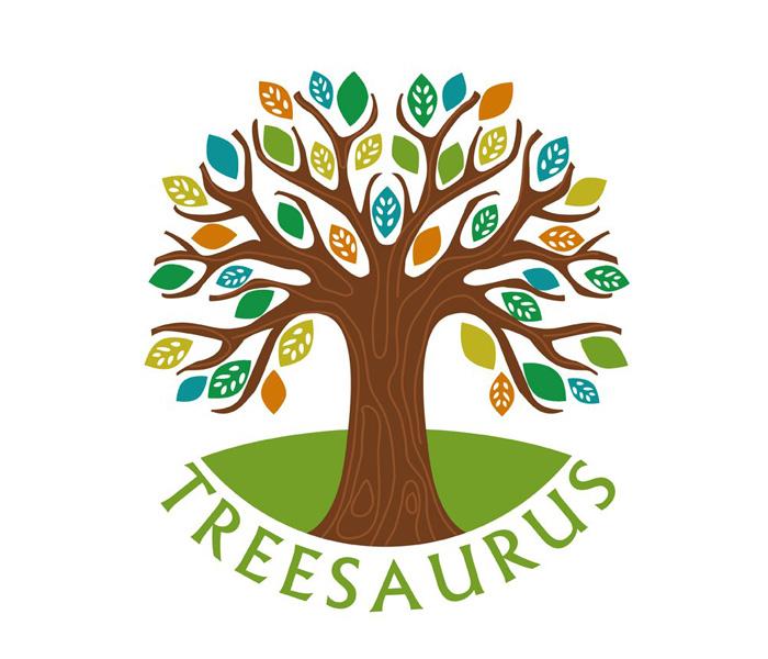 Treesaurus logo Lucy Maddison Logo Design Streatham South London