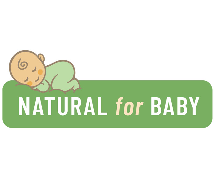 Natural for baby shop logo Lucy Maddison Logo Design Streatham South London