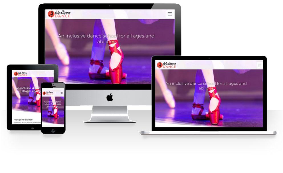 Lucy maddison design responsive website design